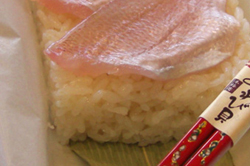 お手軽に押し寿司などが御造りいただけます。